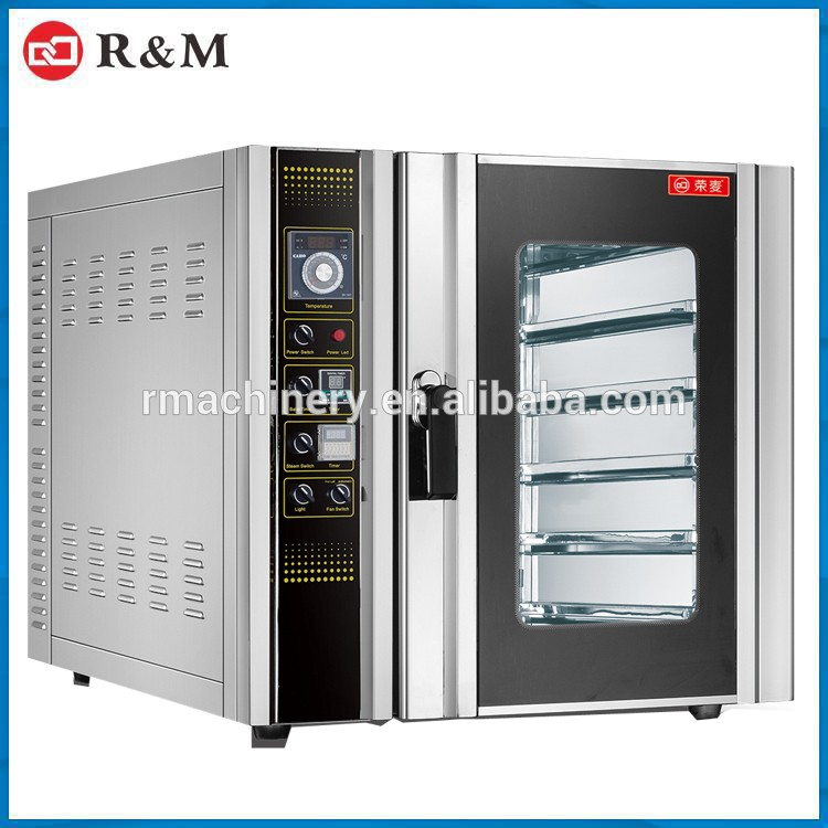 Electric Convection Oven Hot Air Blower,Desktop 8Pan Commercial Convection Oven
