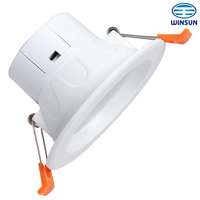 2014 new Heat-conductive plasticLED Downlights 11W, Nichia LED,