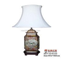 national elements table lamp ceramic