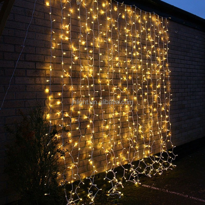 3Mx3M 300 LED christmas curtain fairy string Lights