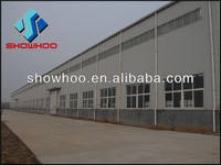 Prefabricated galvanized Industrial/Commercial and Residential Steel Structure Building