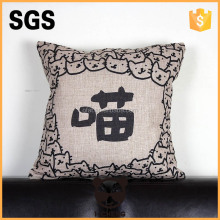 hand painted patchwork knitted cushion cover for home decoration