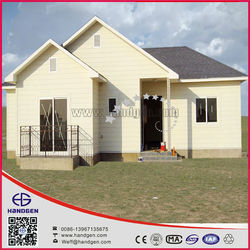 Light Steel Frame Houses With environmental Protection 100sqm, 4 Bedrooms
