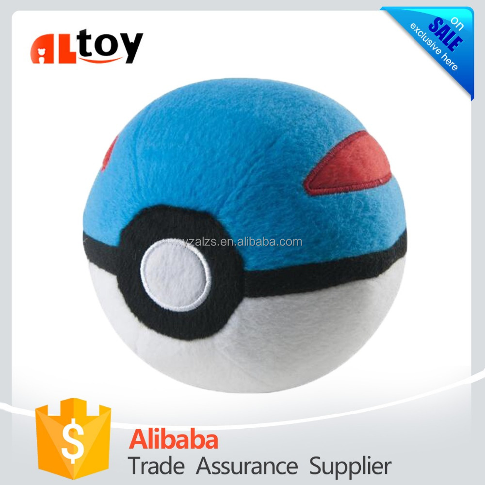 Plush Pokemon Ball Stuffed Toy