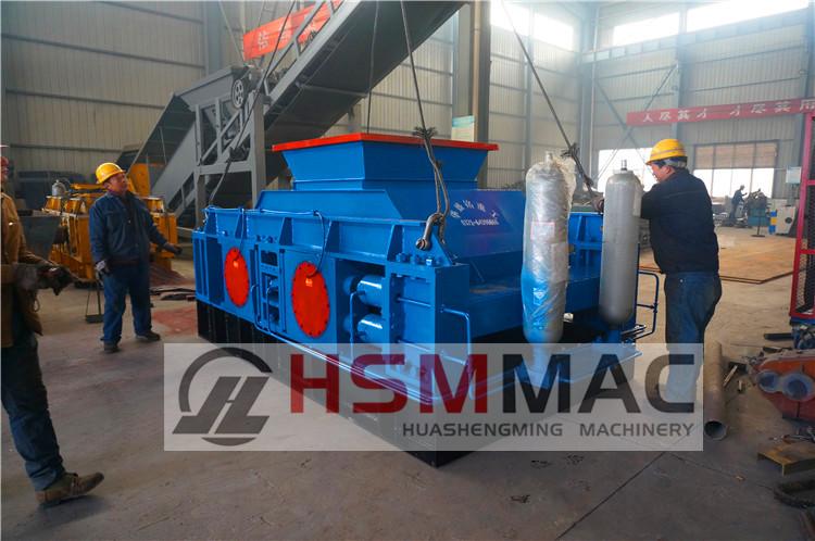 HSM ISO CE Big Model Hydraulic roll crusher machine