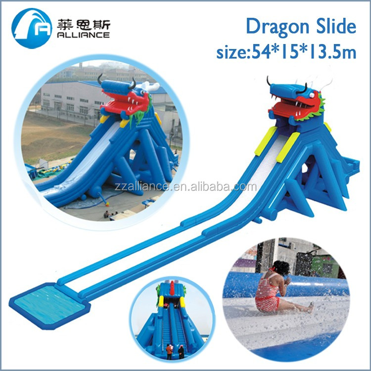 New style Dragon <strong>Slide</strong> inflatable water <strong>slide</strong> big aqua park popular <strong>slide</strong>