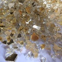 Colored Tempered Fireplace Pit Glass Chips
