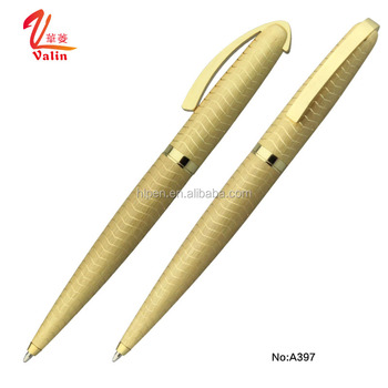 Branded gifts customized logo luxury metal ballpoint pen