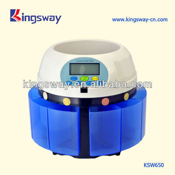 Electric Coin Sorter with LCD (KSW650)