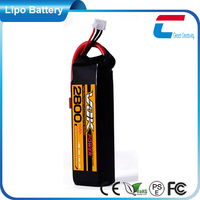 7.4V 2800mAh 2cell 25C rc battery packs model shop for hobby planes and car
