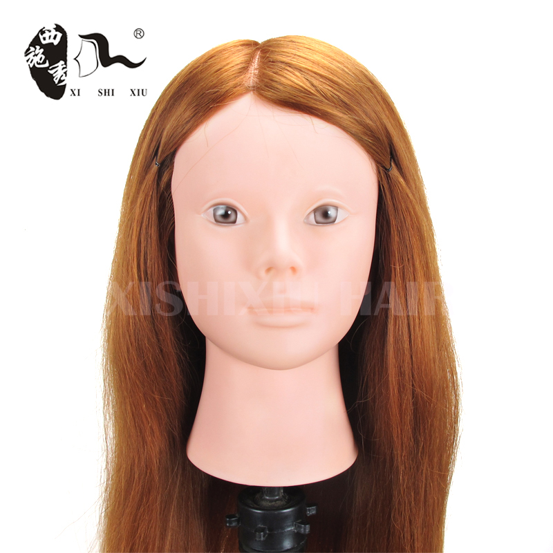 alibaba express Wholesale Price Super Quality female hair barber Doll head For training Salon Practice mannequin head hair train