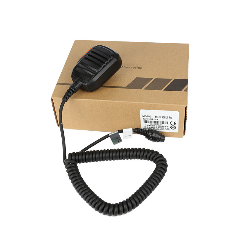 Handheld mic (IP67) SM16A2 for MT680 MD780 RD980 Hytera two way radio