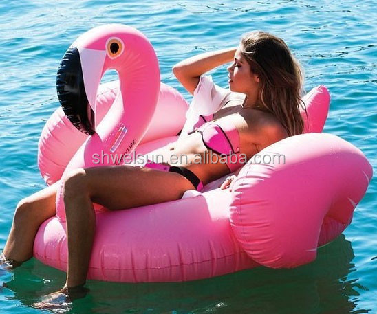 factory direct supply hot selling pool float Flamingo float