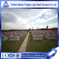 Light steel structure prefab apartments