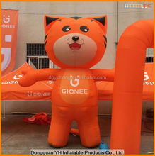 custom oxford inflatable standing mascot balloon