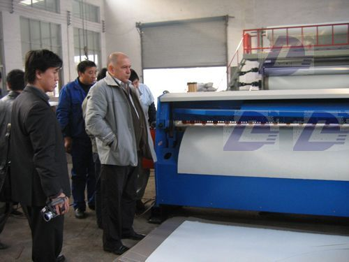 Waterproof sheet membrane plastic machinery DL-8300