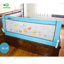 Wholesale amazon hot selling bed rail bumper collapsible bed rail for kids