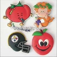 Lovely Fruit PVC Fridge Magnet