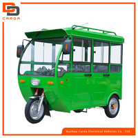new model full chosed electric tricycle for passenger in china