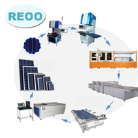 REOO Turnkey basis high efficiency high quality 10 MW solar photovoltaic production line