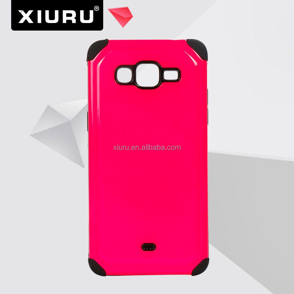 New Sublimation Clear Cell Phone Case Cover Fit For Samsung Galaxy S5 S6 XR-PC-39