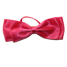 wholesale high quality large pre-tied ribbon bow for gift packing/box packing