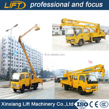 Truck mounted articulating boom,vehicle mounted boom lift
