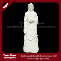 White Classic Unique Large Buddha Statue for Sale