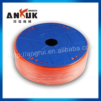 Hot sale red air conditioning flexible hose price, polyurethane pu tube