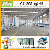 Flat Pressing Insulating Glass Produce Line/Double Glazing Line/ Triple Glass Making Machine