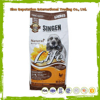 Stand up dog pet food bags