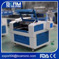 High precision BCJ 3015 130W stainless steel machine laser engraving with rotation RECI laser tube