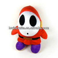 "LE h1528 10"" shy guy soft plush doll"