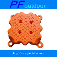 high quality HDPE floating bridge plastic pontoon dock boat folating platform,rotomolding floating dock