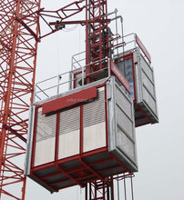 CE Approved ANKA Construction Building hoist in rack and pinion elevator supplier