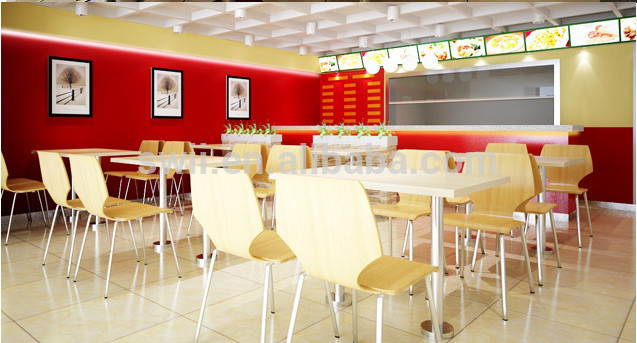 Mc donald s dining table eco friendly restaurant
