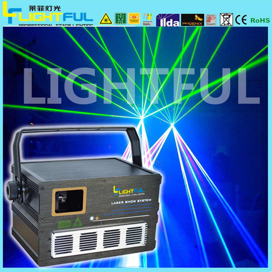Latest style cheap price 1W RGB laser light disco laser light price shenzhen laser light