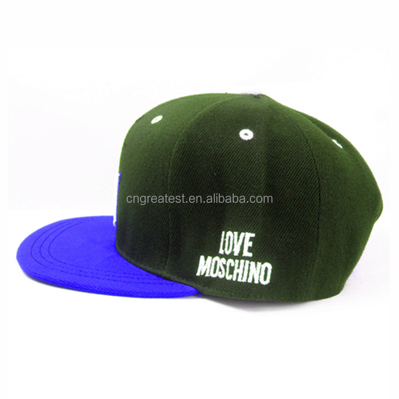 New Design suede flat brim snapback caps hats men