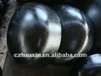 M.S carbon steel name of black painting sch40 cap price
