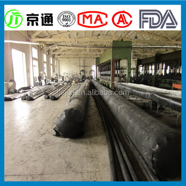 inflatable rubber bag for tunnel inflatable rubber pipe plug
