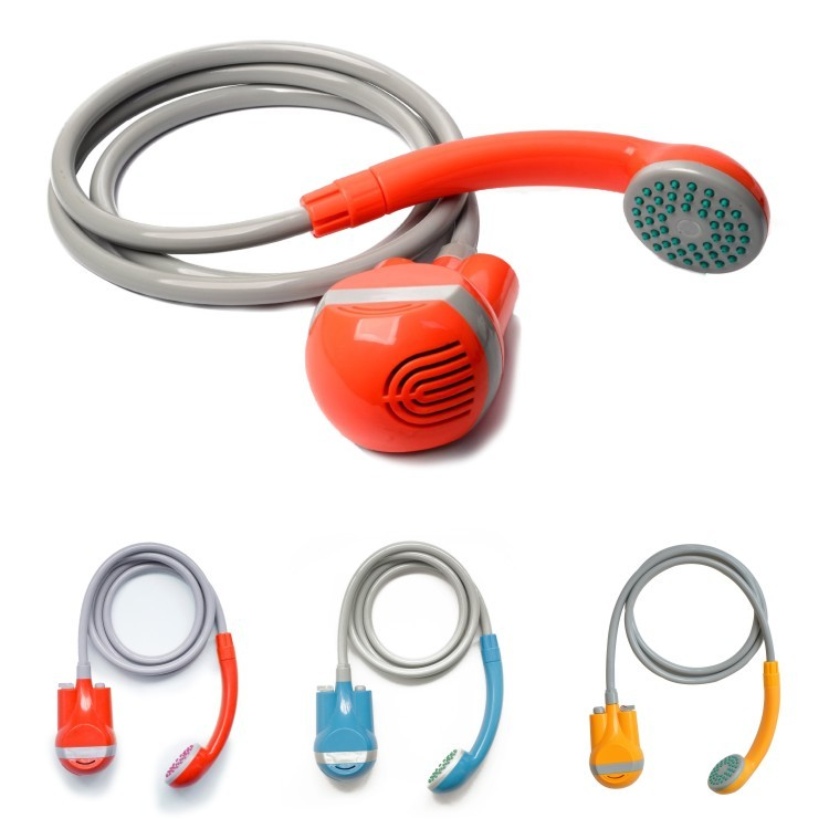 Portable sprayer shower for outdoor pet shower bike cleaning personal washing