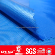 outdoor waterproof 10000mm PU coating polyester taffeta jacket fabric