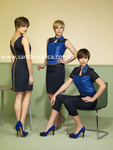 italian desing first class, 2500 model per year production capacity of women's clothing