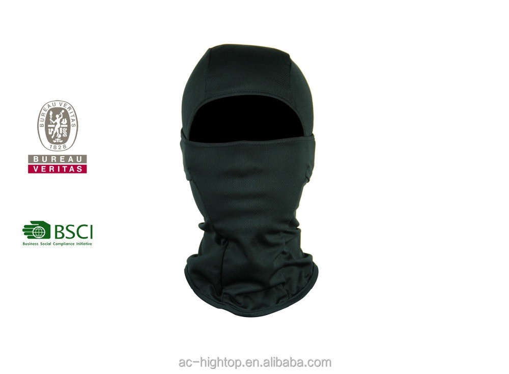 9856 031 striped silk balaclava face mask cap and silk balaclava for man