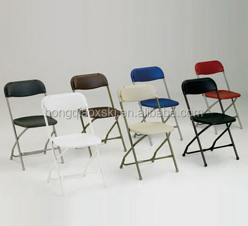 Folding Chairs Plastic lightweight white plastic folding chair for events,party,wedding
