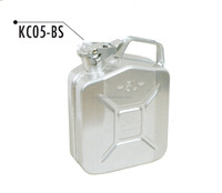 5L 10L 20L 5 Gallon Silver Stainless Steel Flask Jerry Can