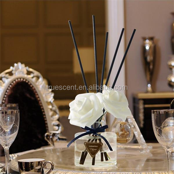 120ml Round Glass Bottle Home Fragrance Reed Diffuser
