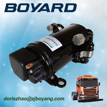 R134A boyang 24v dc electric a c compressor replace qdzh35g compressor for air conditionning camping