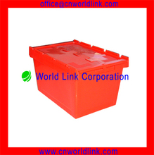65L Packageing Storage Collapsible Plastic Folding Moving Box
