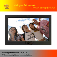 "Shenzhen factory 7"" to 55"" mp4 lcd player hd hot video free downloads SH1013DPF"